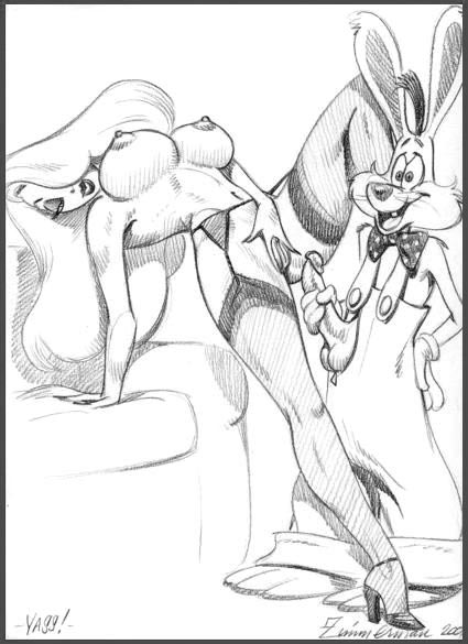 roger framed uncensored who rabbit Zak and wheezie dragon tales