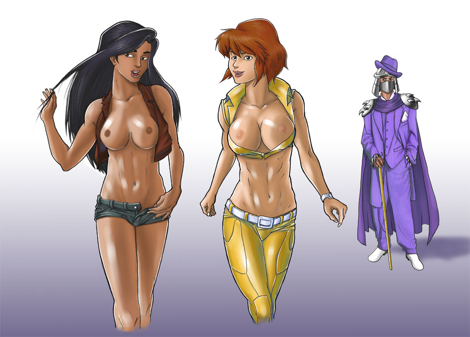 o tmnt naked april neil Hayley smith (american dad!)