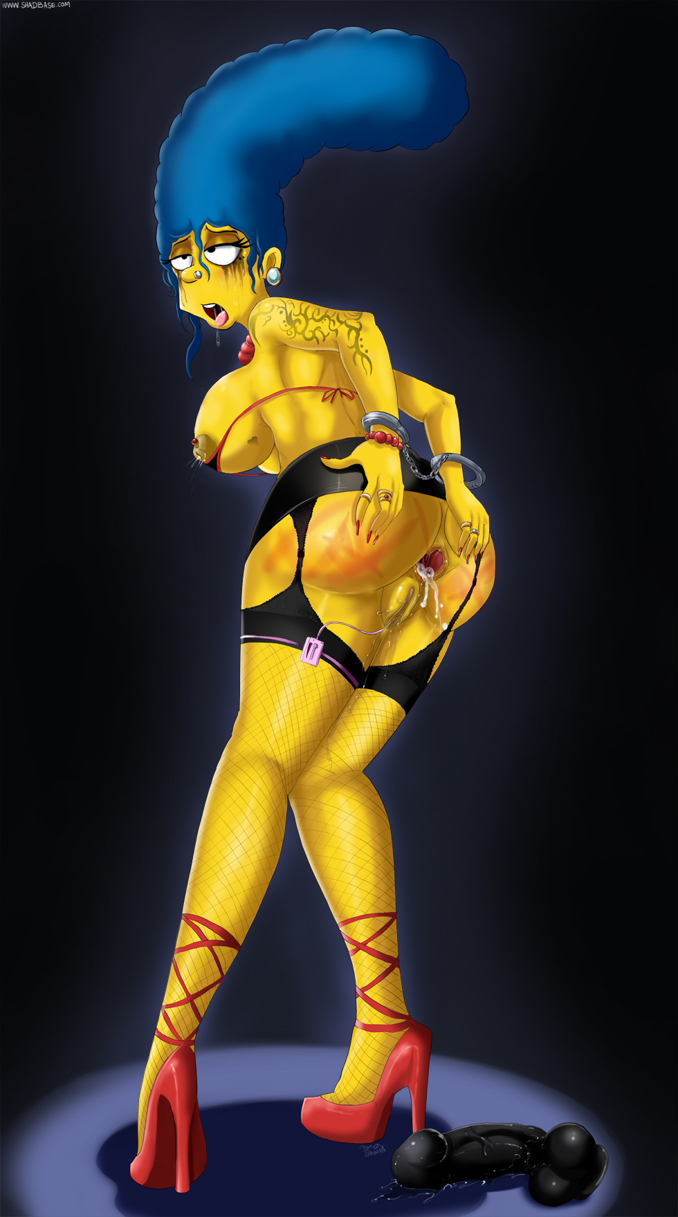 boobs big with marge simpson The land before time hentai