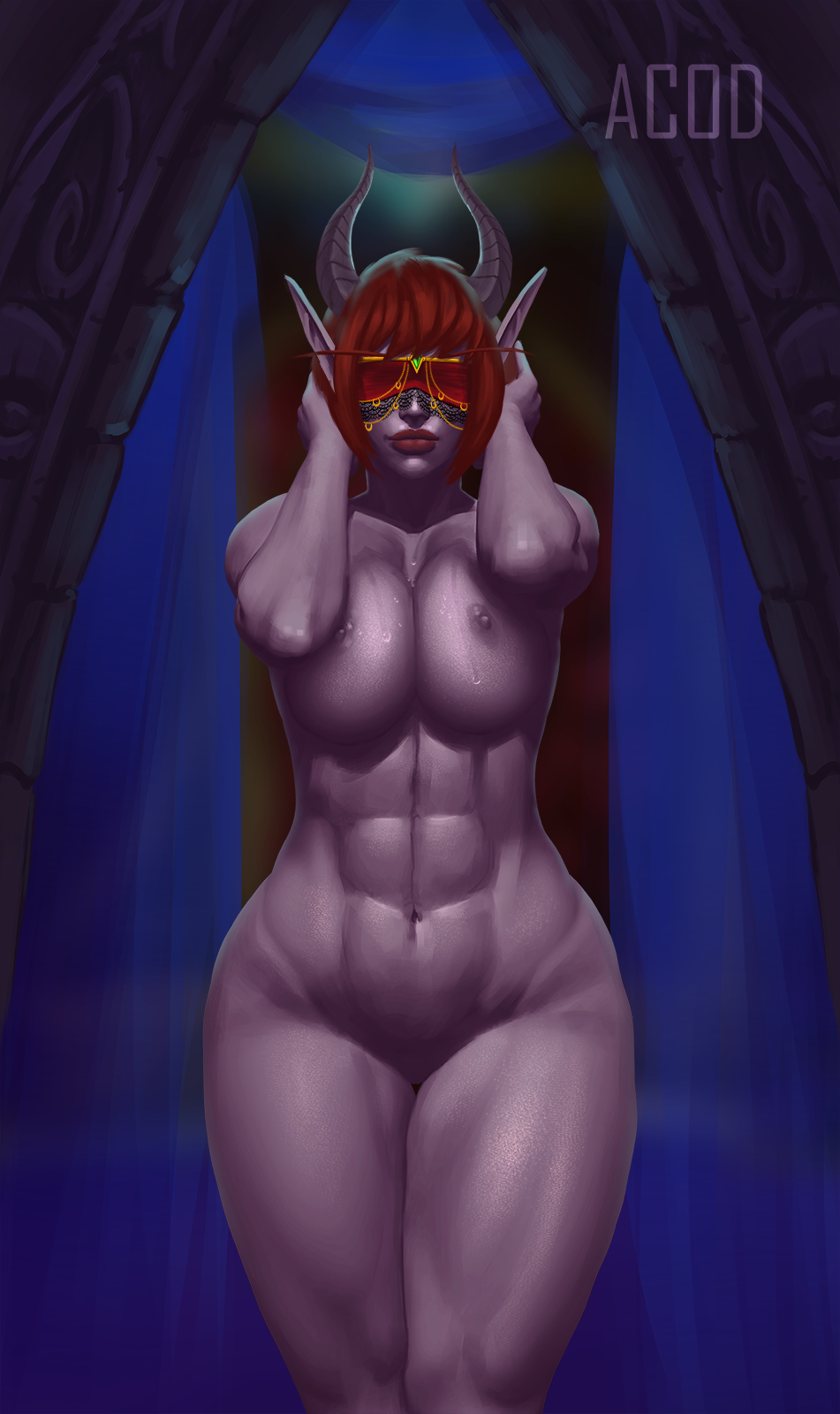 blood demon hunter male elf Knights of the old republic hentai