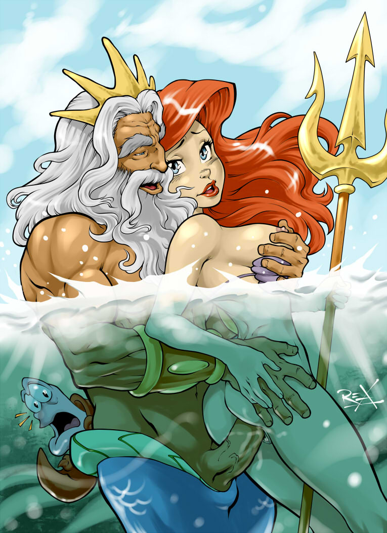 mermaid melody ariel the and little X men evolution boom boom