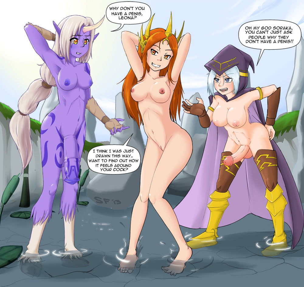 sona league of legends nude Star vs the forces of evil vore