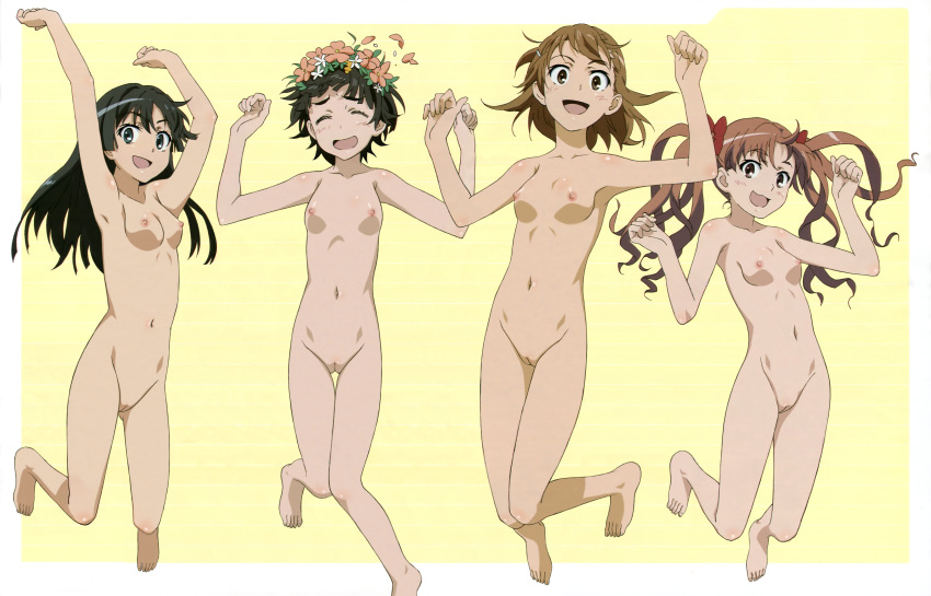 nude a certain magical index Trials in tainted space shade
