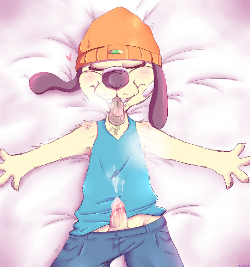 the funny sunny parappa rapper Boy to girl tg captions