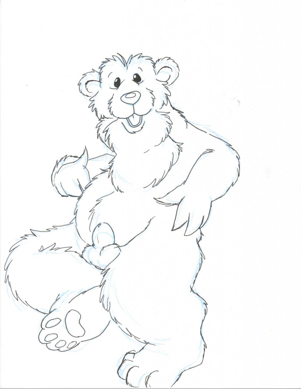 brown the the big blue house in bear Corruption of champions character viewer